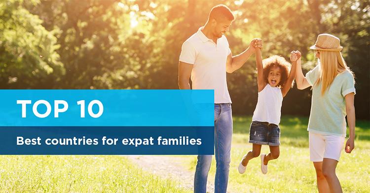 10meilleurs pays pour les familles expatriées